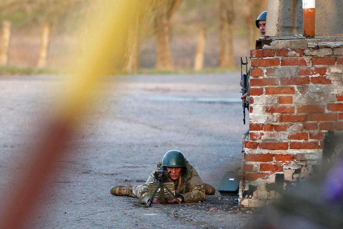 ukraine soldier