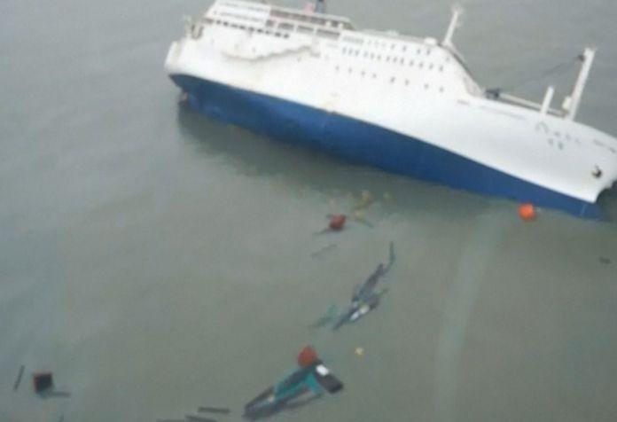 Hundreds Missing as South Korean Ferry Sinks