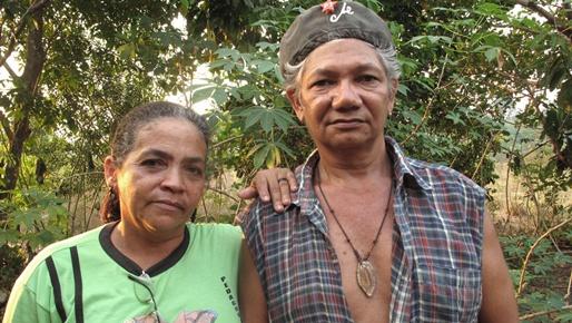 José Cláudio Ribeiro da Silva and his wife, Maria do Espírito Santo,