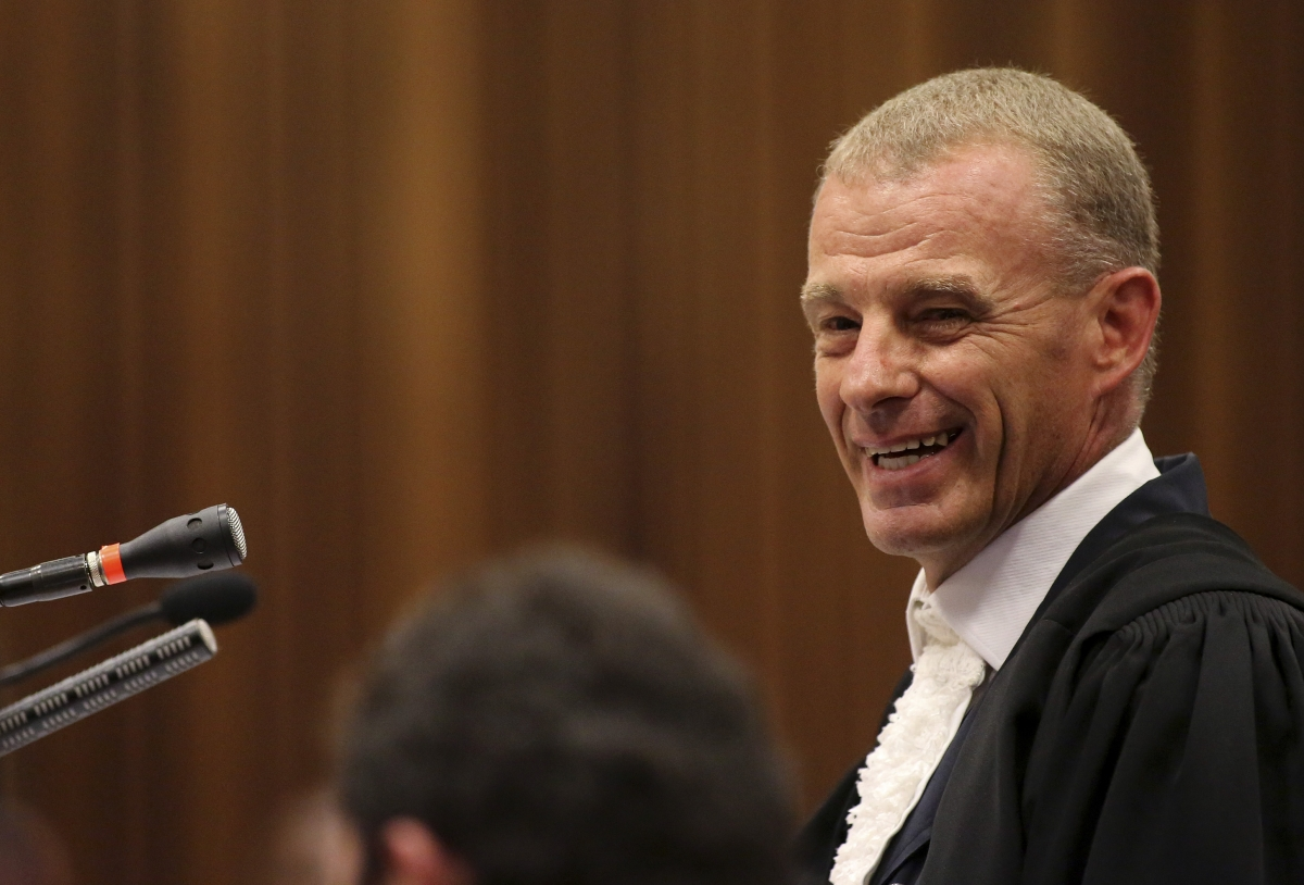 Gerrie Nel beats human rights violation rap over cross-examination of Oscar Pistorius