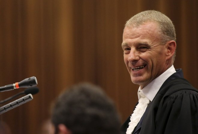 Gerrie Nel beats human rights violation rap over cross-examination of Oscar Pistorius