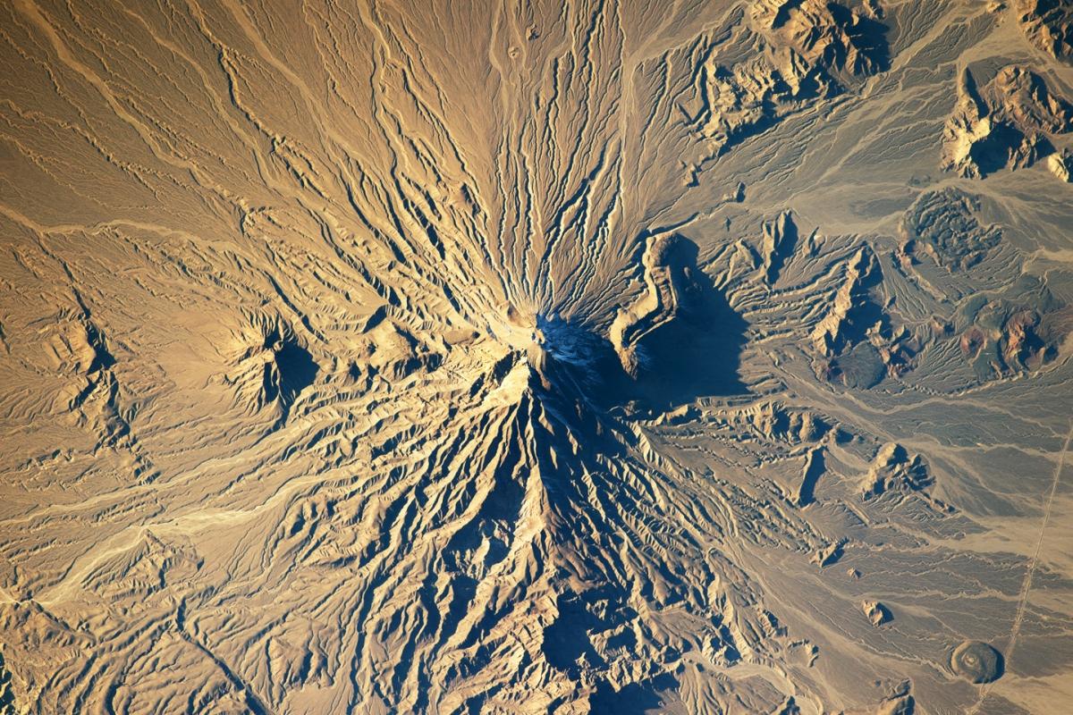 Bazman Volcano, Iran