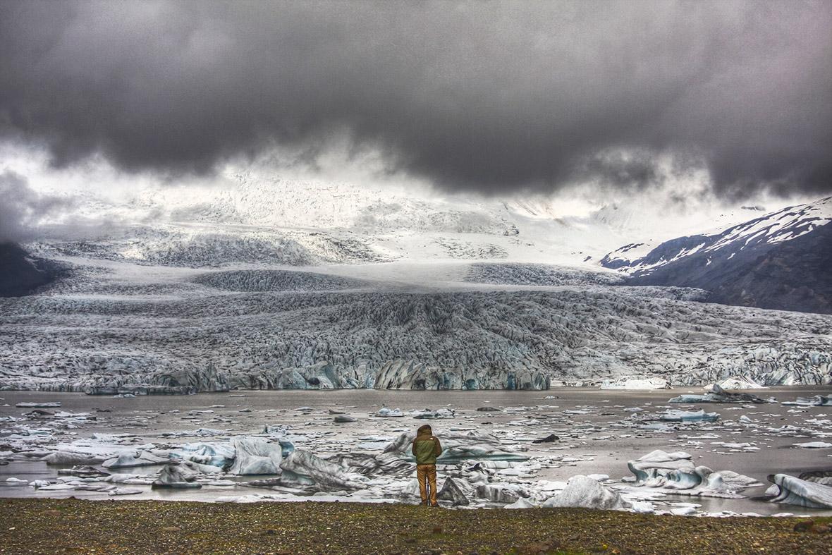 people glacier