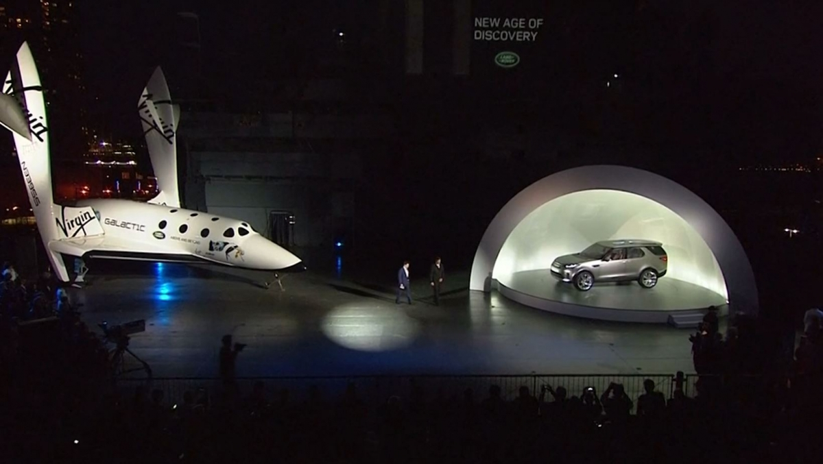 Virgin Galactic Partners with Land Rover in Global Sponsership Deal