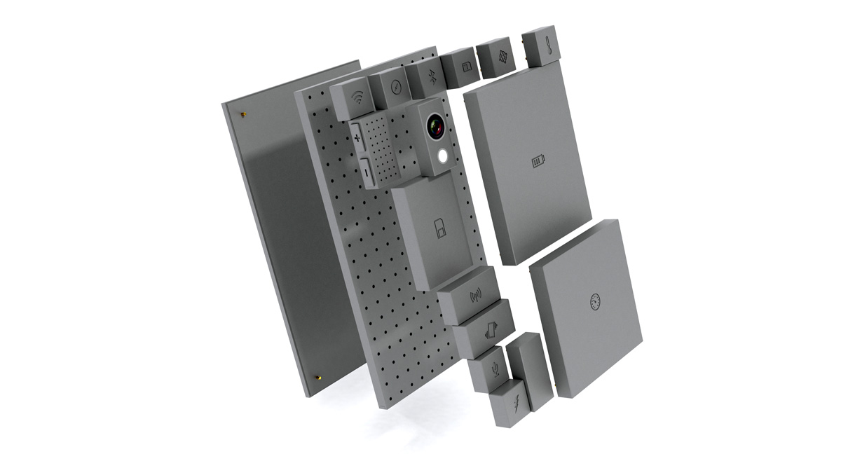 Project Ara Modular Phone Gray