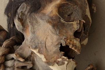 Chilean mummy face