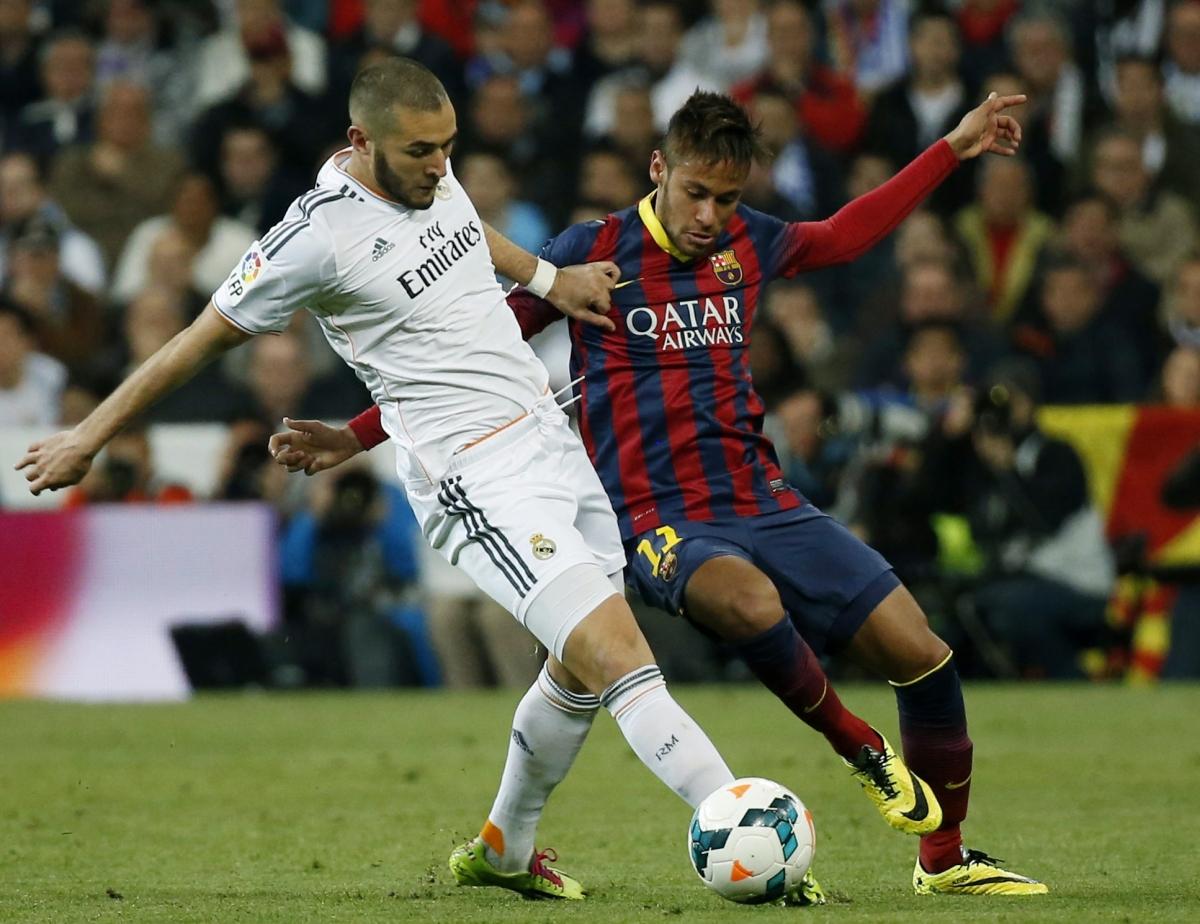 Karim Benzema and Neymar