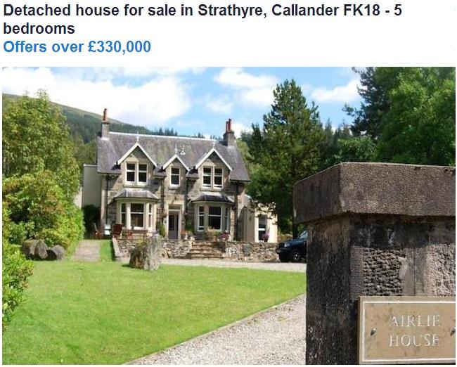 Strathyre house