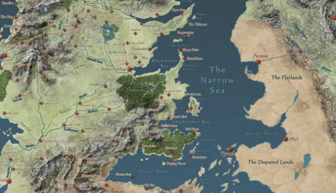 Game of thrones interactive map lets fans track characters across game of thrones westeros gumiabroncs Gallery