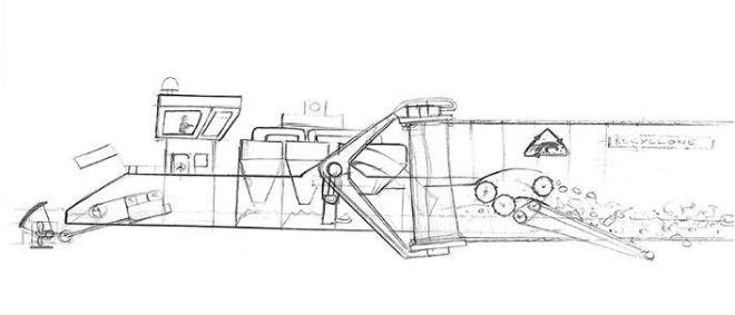 James Dyson Vacuum Barge Concept