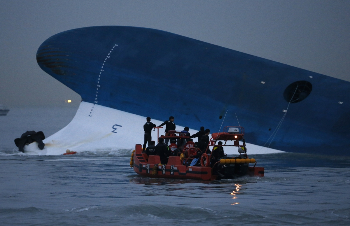 South Korea Ferry Sinks 280 Missing