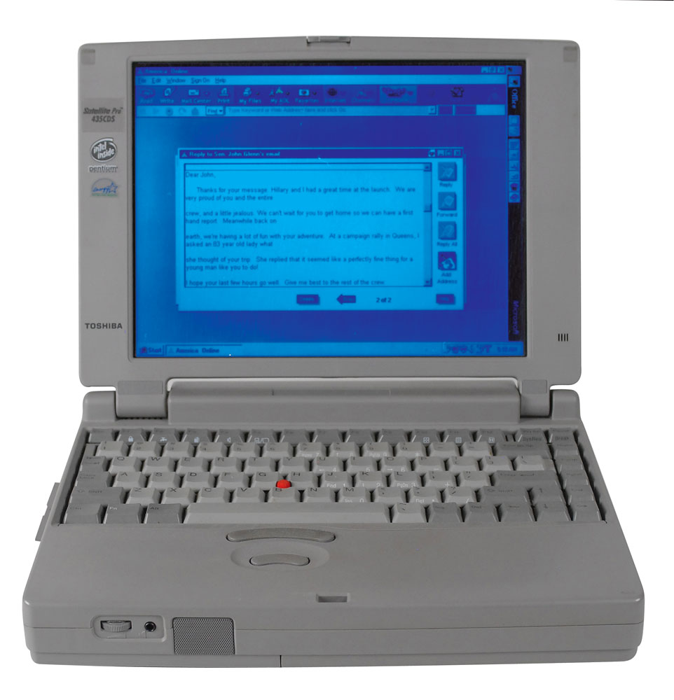 Laptop Used by Bill Clinton to Send First Email to Space Up for Auction