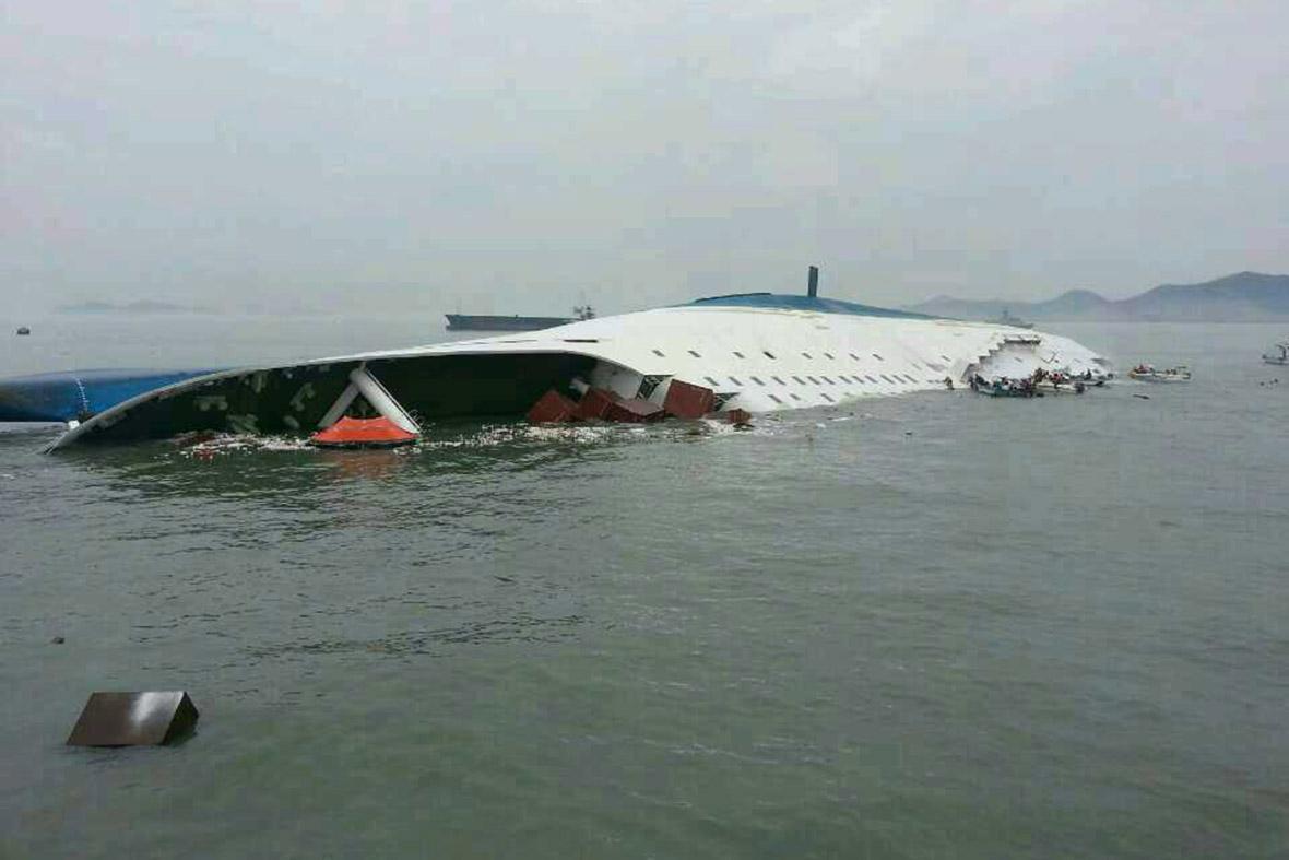 ferry sinking