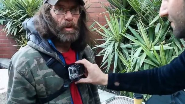 Homeless GoPro project