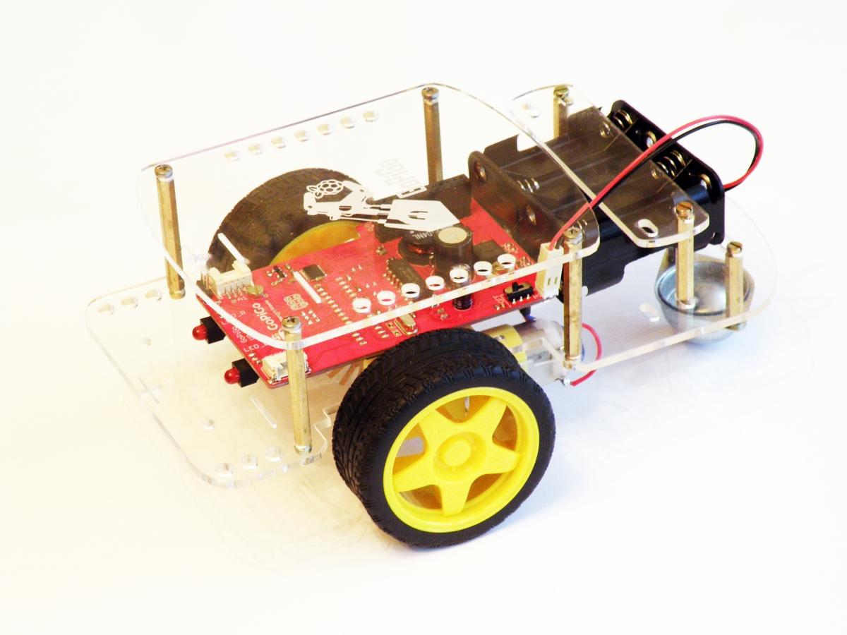 GoPiGo robot kit, costing under $100 and powered by Raspberry Pi