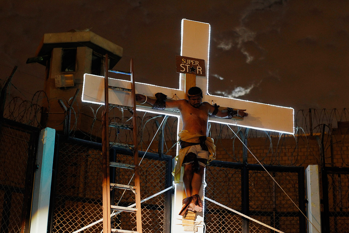 holy week prison