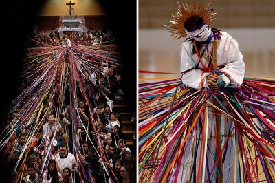 holy week ribbons