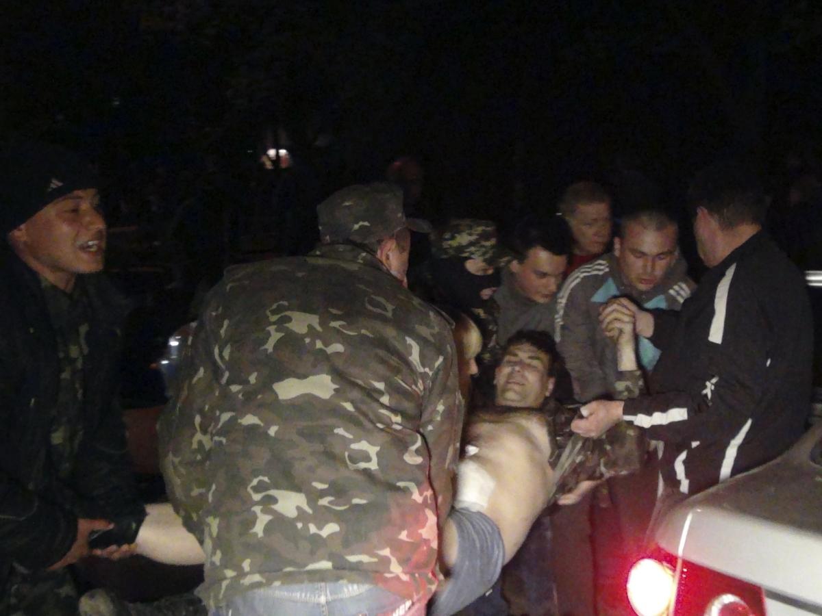 Ukraine Deadly Clashes Military Base Black Sea Mariupol