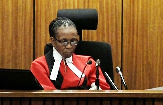 Judge Thokozile Masipa unimpressed by reports of