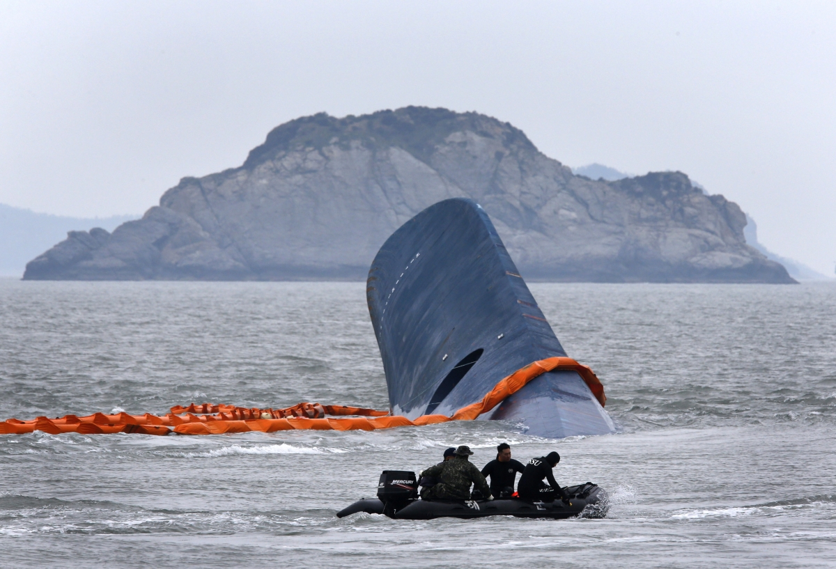 South Korean Ferry Made Abrupt Sharp Turn Before Capsizing