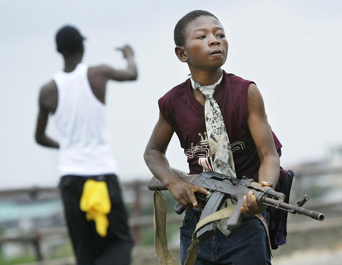 liberia child