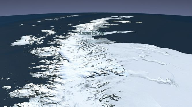 Collapse of Antarctic Ice Shelves