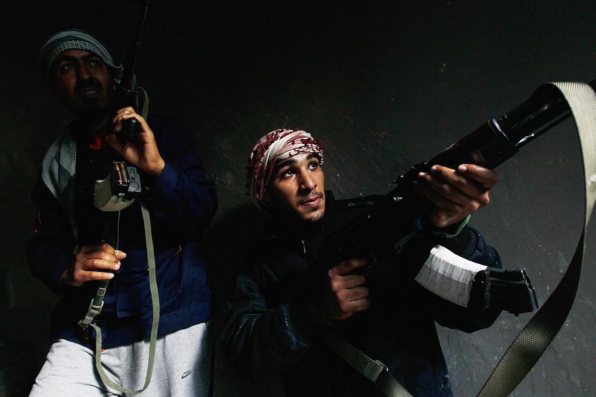 libya gunmen