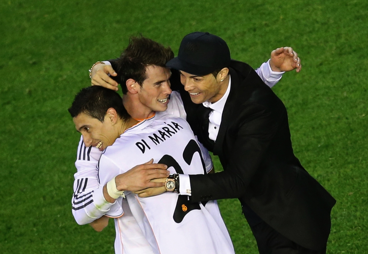 Bale, Ronaldo, Di Maria