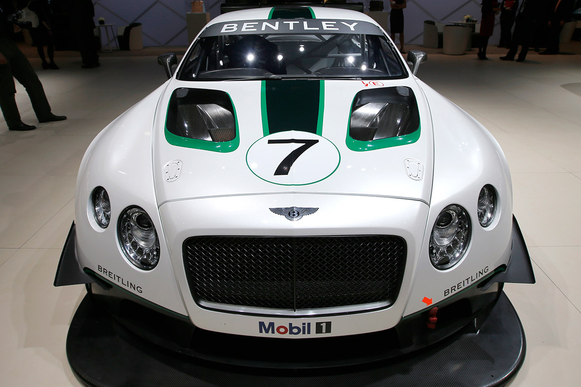 Bentley GT3 racing car