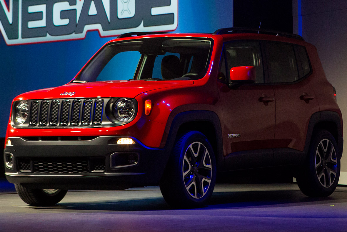 Chrysler Group LLC Jeep Renegade Trail Hawk sport utility vehicle