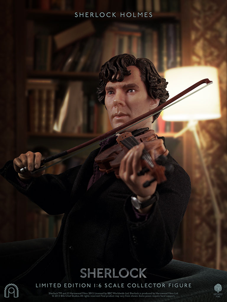 Benedict Cumberbatch as Sherlock Holmes, the collector's figure