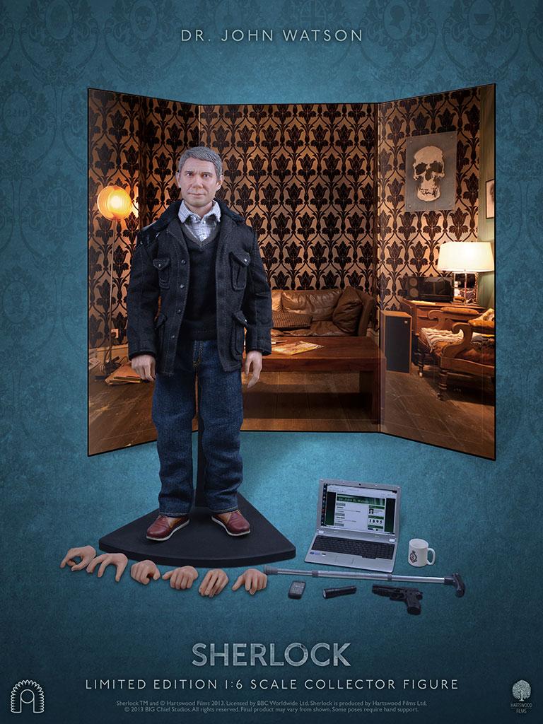 Martin Freeman as Dr John Watson Collector's Figure