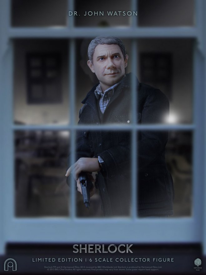 Martin Freeman as Dr John Watson Collector's Figure