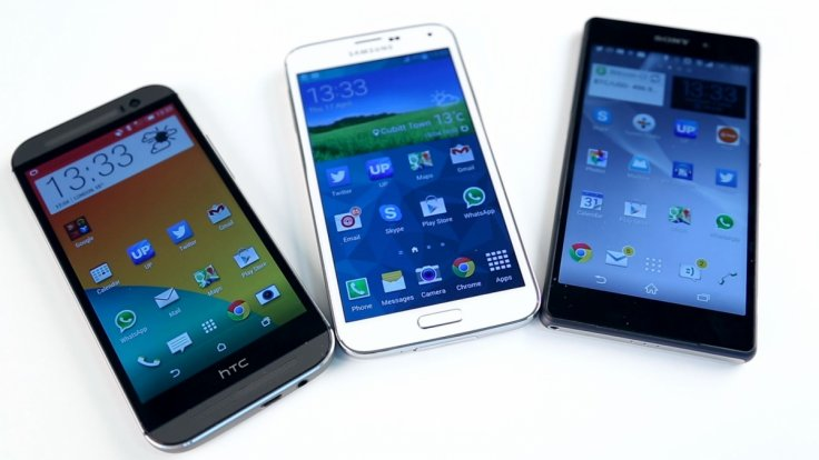 Galaxy S5 vs HTC One M8 vs Xperia Z2 - Android Superphone Battle