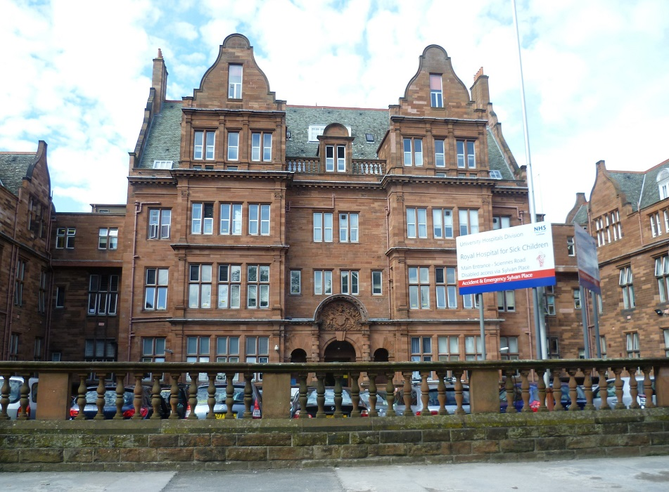 Royal Hospital for Sick Children in Edinburgh