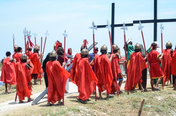 Philippines crucifixions