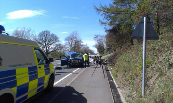 A66 crash