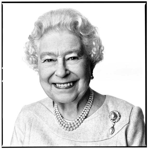 David Bailey's photograph of Queen Elizabeth to celebrate her 88th birthday