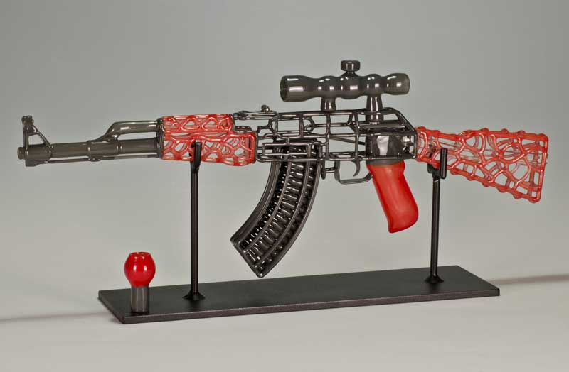 AK 47 by Robert Mickelsen