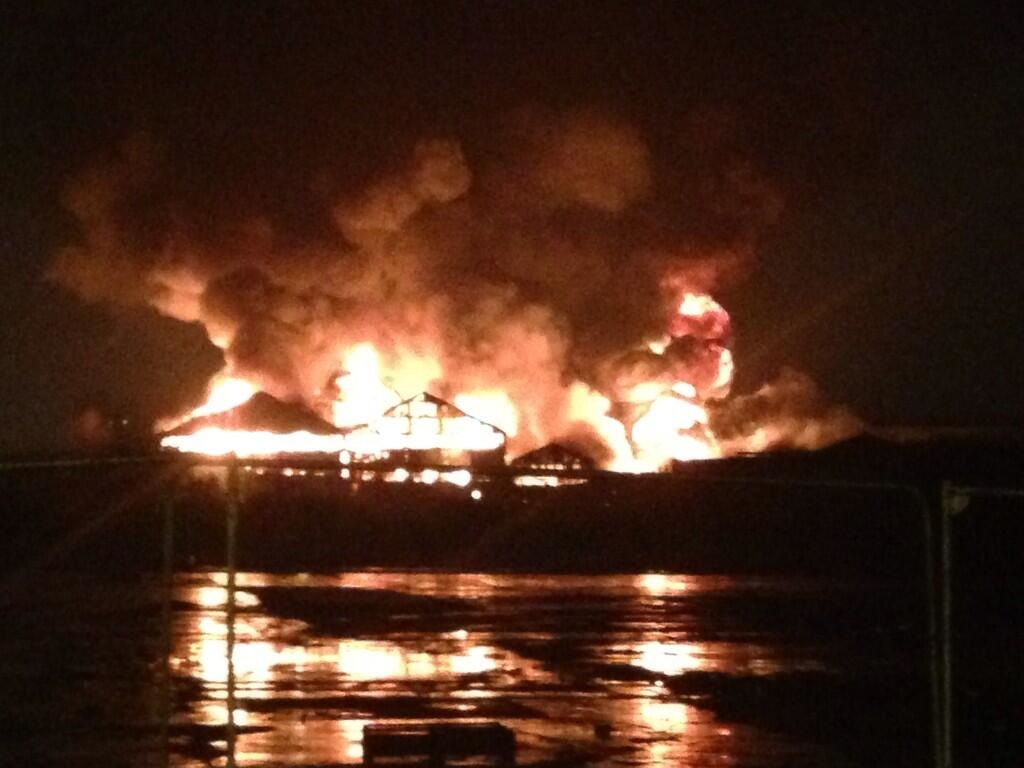 Leeds chemical storage facility fire