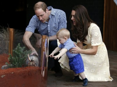 Prince George meets his namesake George the bilby