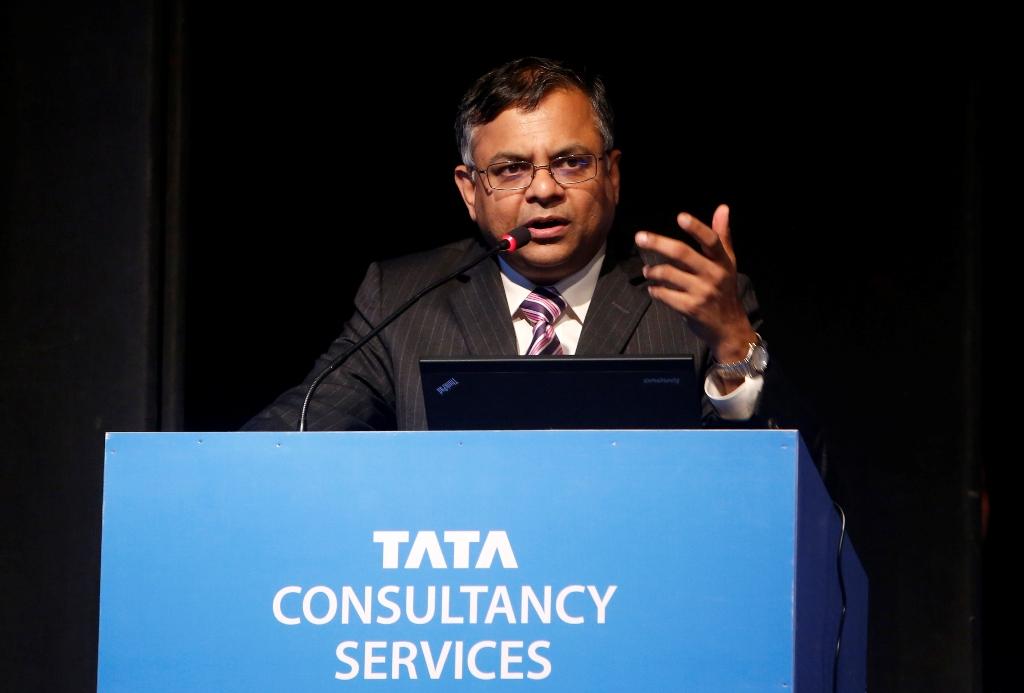TCS N Chandrasekaran