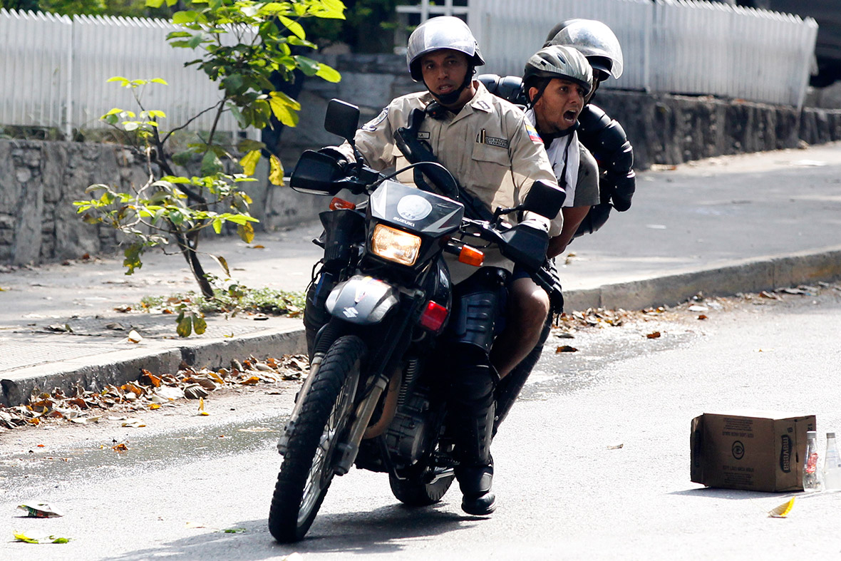 arrest bike