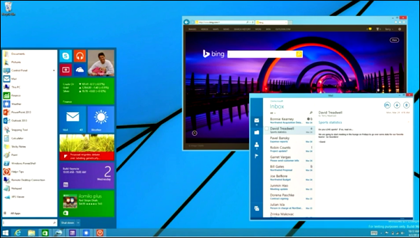 Windows 8.2/Windows 9: Tipped to Feature Start Menu, Cloud Based Operating System