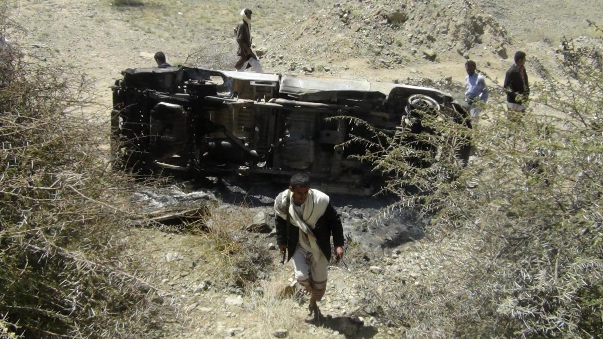 Yemen Al Qaeda Drone Strike Middle East