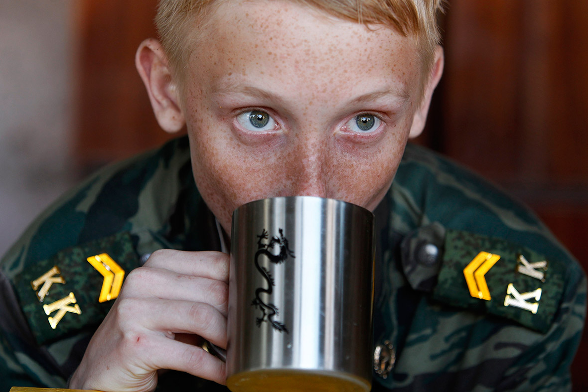 boy drink