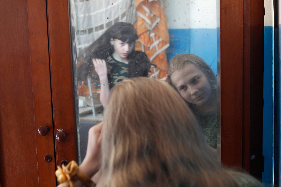 girls mirror