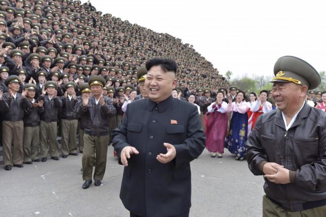North Korean leader Kim Jong-Un Nuclear Test
