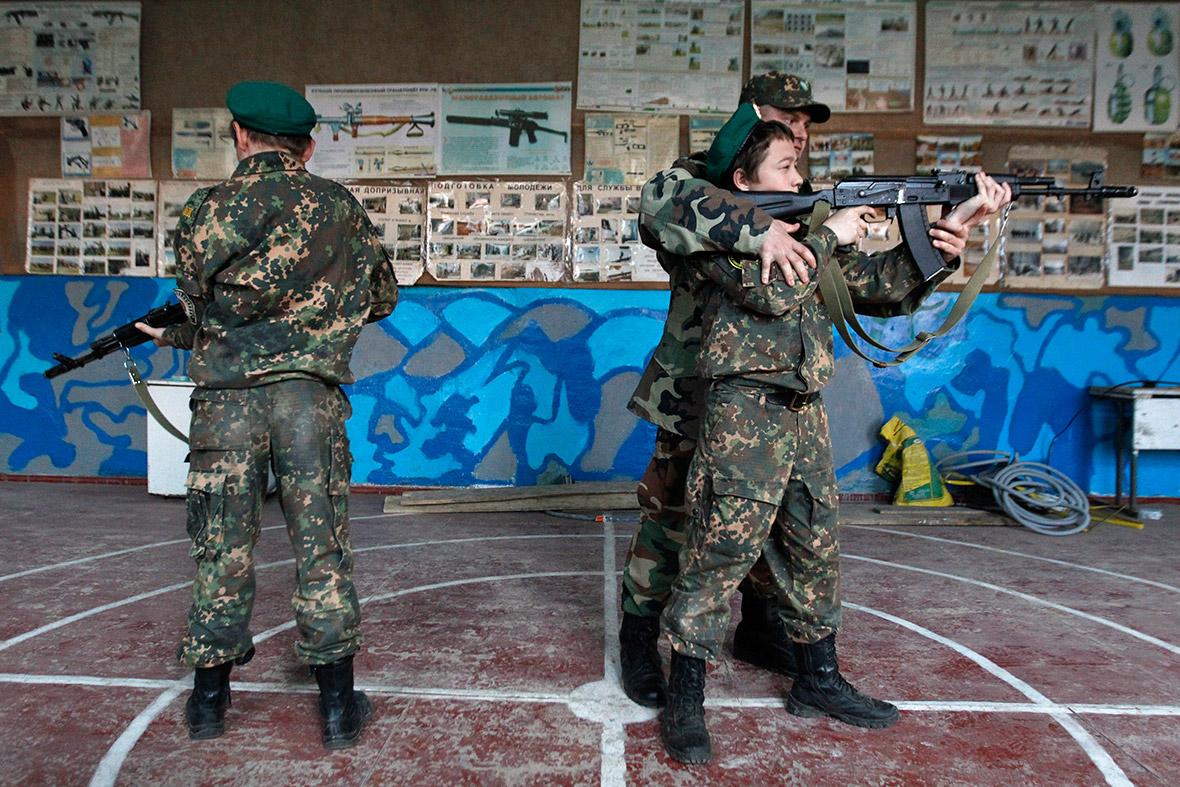 rifle trainin