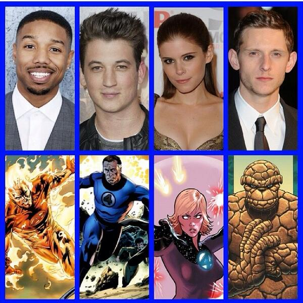 The new Fantastic Four cast